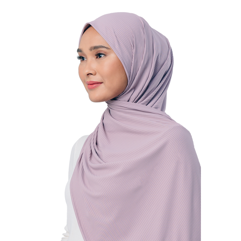 Jet Setter Scarf in Lilac