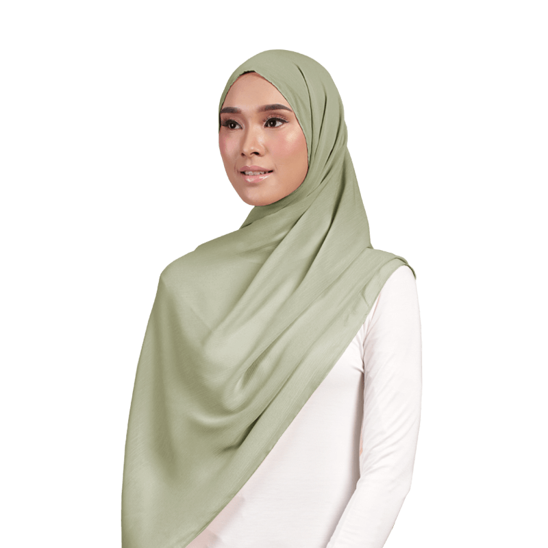 Mayesa Basic Scarf in Olive