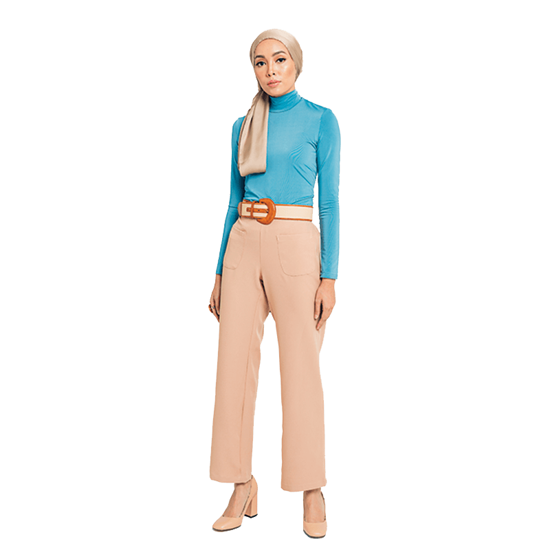 Eva Pants in Beige