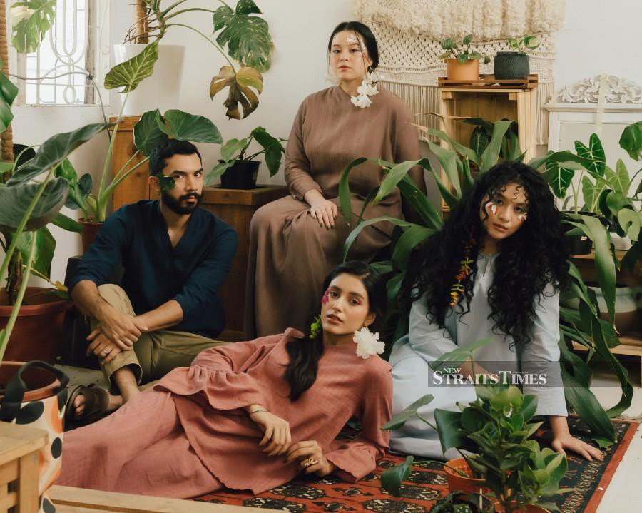 Umma's Alun Eid 2021 collection is all about going with the flow